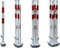 Дымовые трубы 23-45 м 1, 2, 3 и 4 ствола