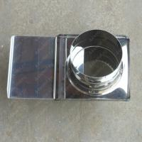 Шибер 150 мм задвижка из нержавеющей стали 0,8 мм цена