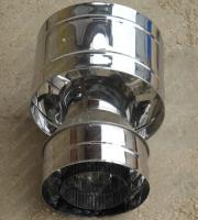 Дефлектор 300/380 мм из нержавейки 0,5 мм цена