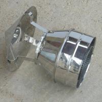 Купите дымоходный колпак 115/200 мм из нержавейки 0,5 мм