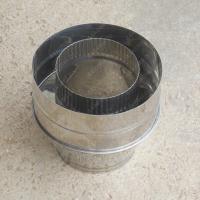Конус 130/210 мм из нержавейки 0,5 мм цена