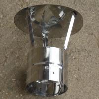 Зонт одностенный 350 мм из нержавейки 0,5 мм цена