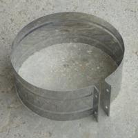 Хомут обжимной 130 мм из нержавеющей стали 0,5 мм