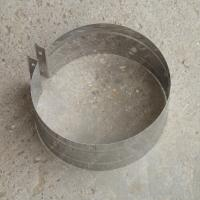 Купите хомут обжимной 260 мм из нержавеющей стали 0,5 мм для крепежа дымохода