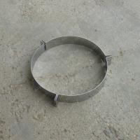 Хомут 200 мм под растяжки из нержавеющей стали 0,8 мм цена