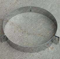 Хомут 280 мм под растяжки из нержавеющей стали 0,8 мм