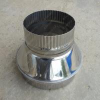Старт-сэндвич 115/200 мм из нержавеющей стали AISI 304 0,8 мм утепленный