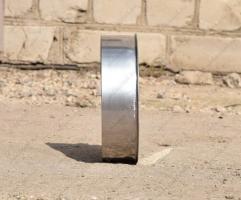Ревизионная заглушка 130 мм из нержавеющей стали 0,5 мм