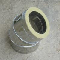 Сэндвич-отвод 120/200 мм 90 из нержавейки AISI 304 0,8 мм и оцинковки цена