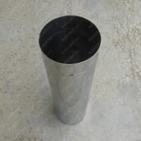 Купите трубу 350 мм. 0,5 м. одноконтурная из нержавеющей стали AISI 304 0,8 мм.