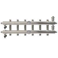 Распределительный коллектор на 7 контуров мощность 60 кВт GK 25-7