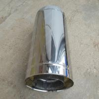 Сэндвич труба 200/280 мм 500 мм из нержавеющей стали 0,8 мм цена