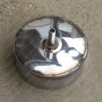 Конденсатоотвод 115 мм из нержавеющей стали AISI 304, 0,8 мм