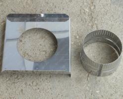 Монтажная площадка опорная для дымохода 150/230 мм цена