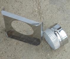 Купите опорную монтажную площадку для дымохода 350/430 мм